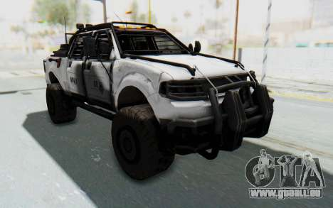 Toyota Hilux Technical MNU pour GTA San Andreas