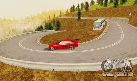 Kagarasan Piste pour GTA San Andreas cinquième écran