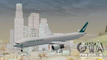 Boeing 777-300ER Cathay Pacific Airways v3 für GTA San Andreas