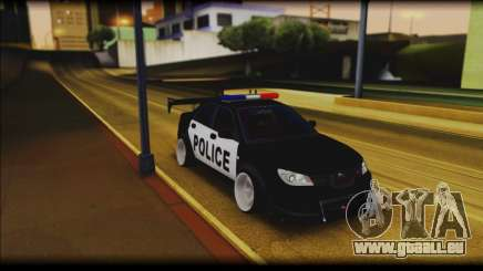 Subaru Impreza WRX STi Police Drift für GTA San Andreas