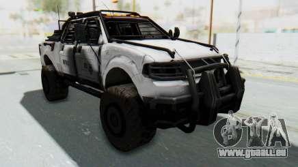 Toyota Hilux Technical MNU für GTA San Andreas