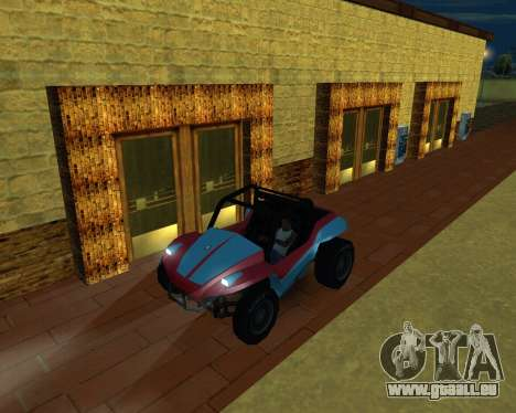 La Nouvelle Station pour GTA San Andreas cinquième écran