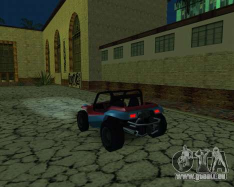 La Nouvelle Station pour GTA San Andreas deuxième écran