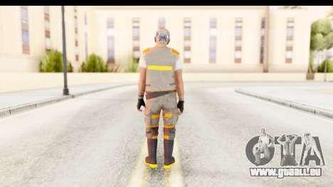 COD AW - John Malkovich Janitor pour GTA San Andreas troisième écran