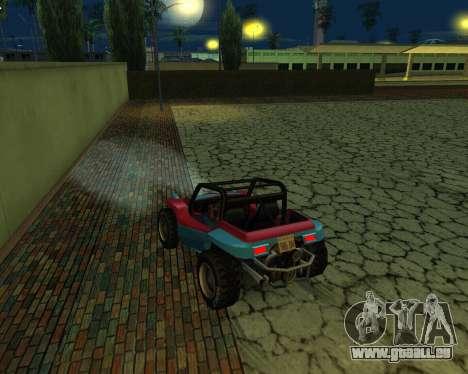 La Nouvelle Station pour GTA San Andreas troisième écran