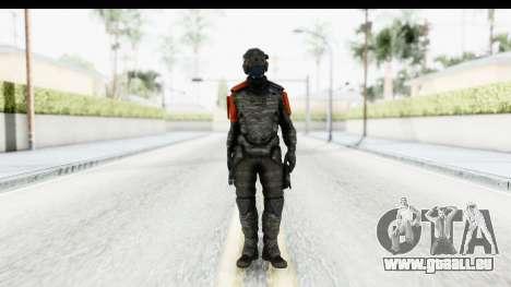 Homefront The Revolution - KPA v5 Camo pour GTA San Andreas deuxième écran