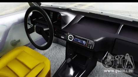 Fiat 131 Panorama für GTA San Andreas Innenansicht
