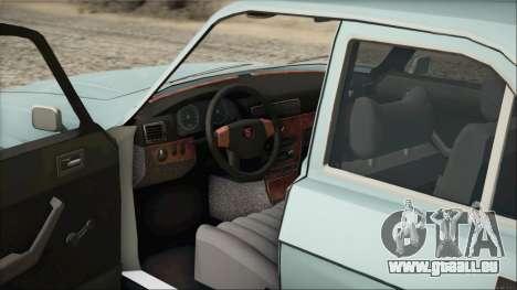 GAZ 3102 début pour GTA San Andreas vue arrière
