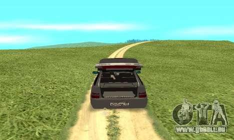 VAZ 2112 pour GTA San Andreas vue arrière
