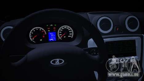 Lada 2190 (Granta) Sport für GTA San Andreas rechten Ansicht