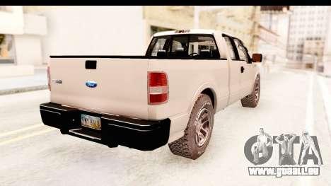 Ford F-150 4x4 2008 für GTA San Andreas linke Ansicht