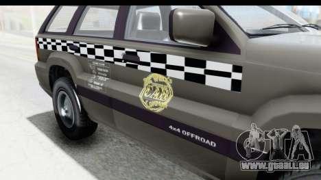 GTA 5 Canis Seminole Taxi Saints Row 4 Retro pour GTA San Andreas vue intérieure