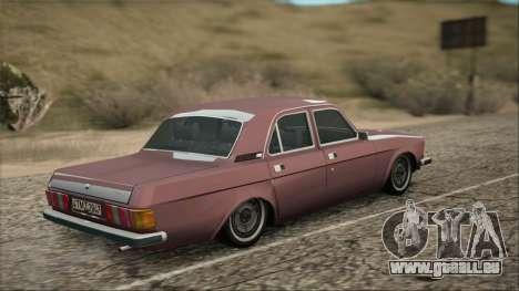 GAZ 3102 début pour GTA San Andreas laissé vue