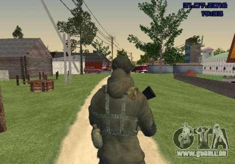 Kämpfer in der Folie für GTA San Andreas her Screenshot