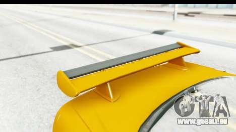 NFSU Eddie Nissan Skyline pour GTA San Andreas vue intérieure