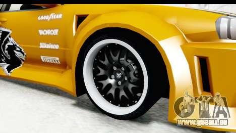 NFSU Eddie Nissan Skyline für GTA San Andreas Rückansicht