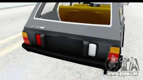 Fiat 131 Panorama für GTA San Andreas Seitenansicht