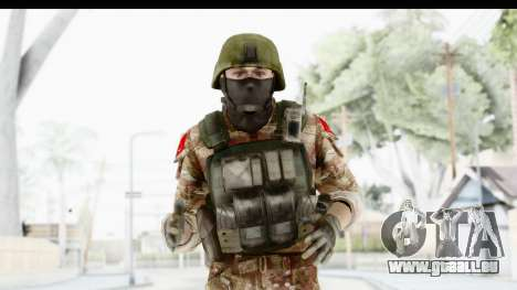 Global Warfare Turkey für GTA San Andreas