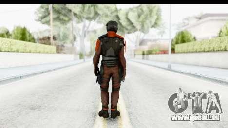 Homefront The Revolution - KPA v4 Red pour GTA San Andreas troisième écran