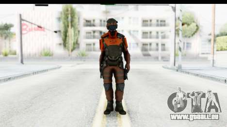 Homefront The Revolution - KPA v4 Red pour GTA San Andreas deuxième écran