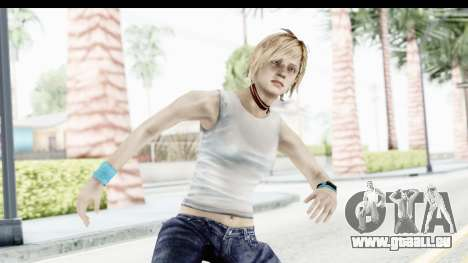 Silent Hill 3 - Heather Sporty White Base für GTA San Andreas