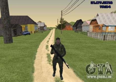 Kämpfer in der Folie für GTA San Andreas zweiten Screenshot