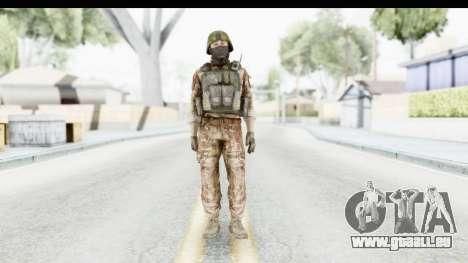 Global Warfare Turkey pour GTA San Andreas deuxième écran
