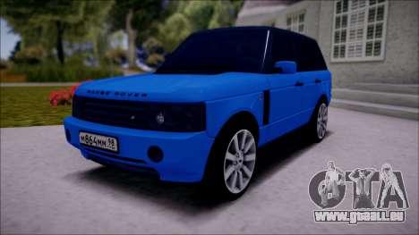 Land Rover Range Rover III (Pontorezka) pour GTA San Andreas