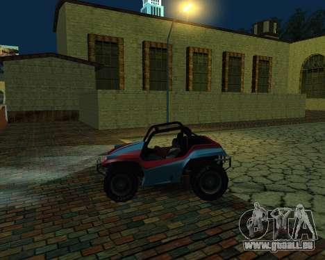 La Nouvelle Station pour GTA San Andreas quatrième écran