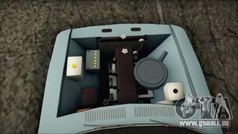 GAZ 3102 début pour GTA San Andreas vue de droite