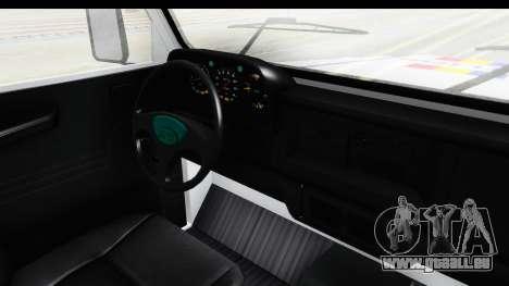 Aro 243 1996 Police pour GTA San Andreas vue intérieure