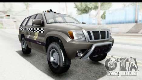 GTA 5 Canis Seminole Taxi Saints Row 4 Retro pour GTA San Andreas