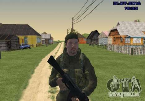 Kämpfer in der Folie für GTA San Andreas