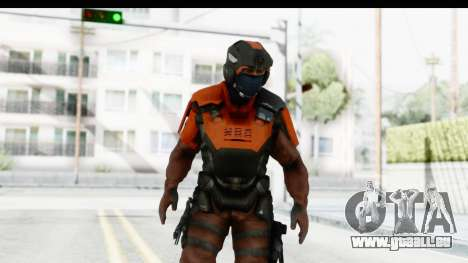 Homefront The Revolution - KPA v4 Red pour GTA San Andreas