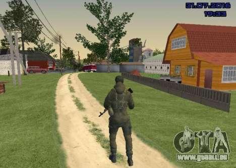 Kämpfer in der Folie für GTA San Andreas dritten Screenshot