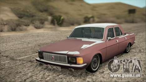 GAZ 3102 début pour GTA San Andreas