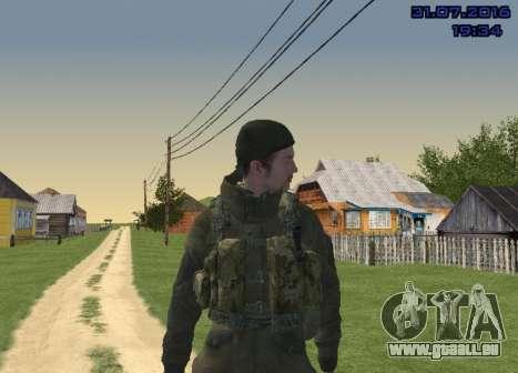 Kämpfer in der Folie für GTA San Andreas fünften Screenshot