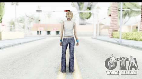 Silent Hill 3 - Heather Sporty White Base für GTA San Andreas dritten Screenshot