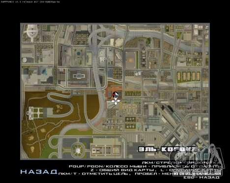 La Nouvelle Station pour GTA San Andreas huitième écran