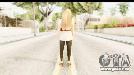 Adele pour GTA San Andreas troisième écran