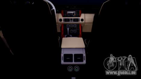 Land Rover Range Rover III (Pontorezka) pour GTA San Andreas vue intérieure