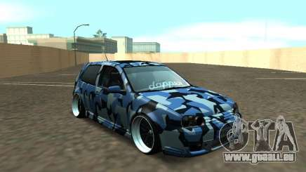 Volkswagen Golf MK4 R32 Position pour GTA San Andreas