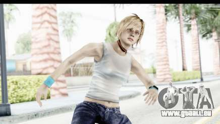 Silent Hill 3 - Heather Sporty White Base pour GTA San Andreas