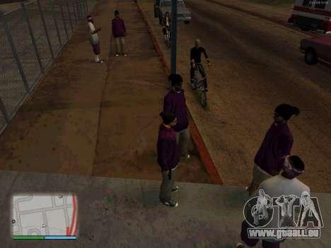 White CJ v3 Improved pour GTA San Andreas deuxième écran
