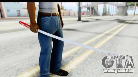 Katana from GTA Advance pour GTA San Andreas
