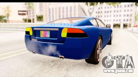 GTA EFLC TBoGT F620 v2 für GTA San Andreas linke Ansicht