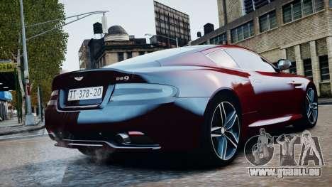 Aston Martin DB9 2013 für GTA 4 rechte Ansicht