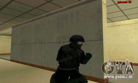 Haut FIB SWAT von GTA 5 für GTA San Andreas neunten Screenshot
