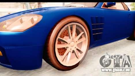 GTA EFLC TBoGT F620 v2 für GTA San Andreas Rückansicht