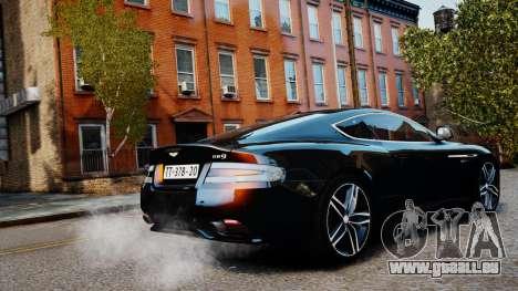 Aston Martin DB9 2013 pour GTA 4 est une gauche